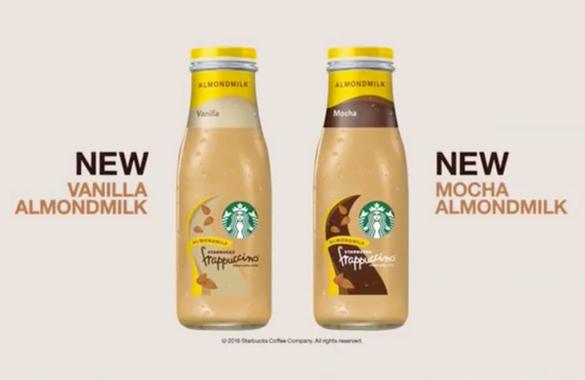 Starbucks Almond Milk Frappucino